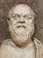 Socrate, buste au musée du Vatican