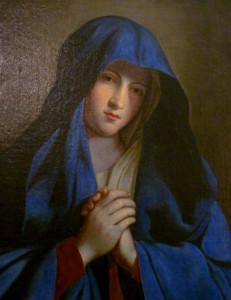 La Vierge au voile bleu
