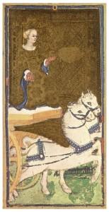 Le Chariot du Tarot Visconti-Sforza