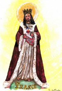 jésus roi de France