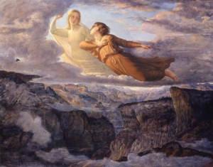 L'âme qui s'envole vers l'Idéal Transcendant-janmot-ideal