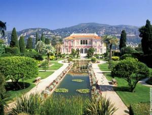 jardin de la villa Ephrussi de Rotschild Cap-Ferrat