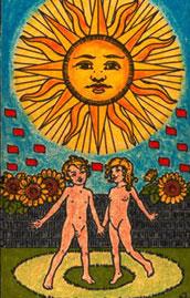 Le soleil Tarot India