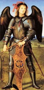 Pietro Perugino, Archangel Saint-Michel