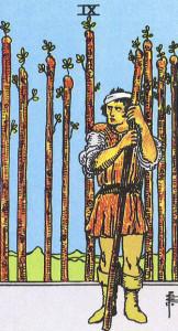 9 de bâton (Rider)