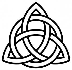 Le Trois-image celtique